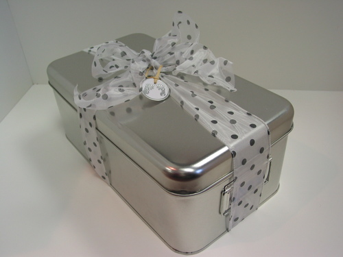 Custom Gift Basket - keepsake box