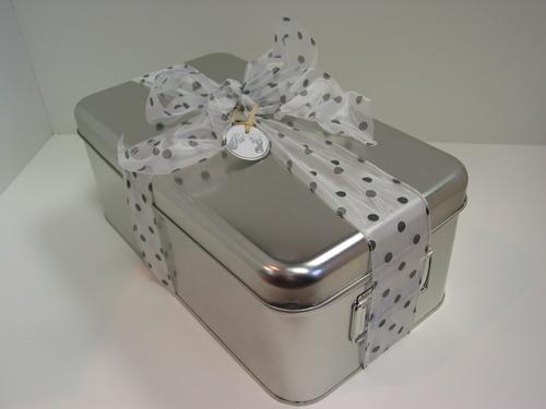 Custom Gift Basket - keepsake box